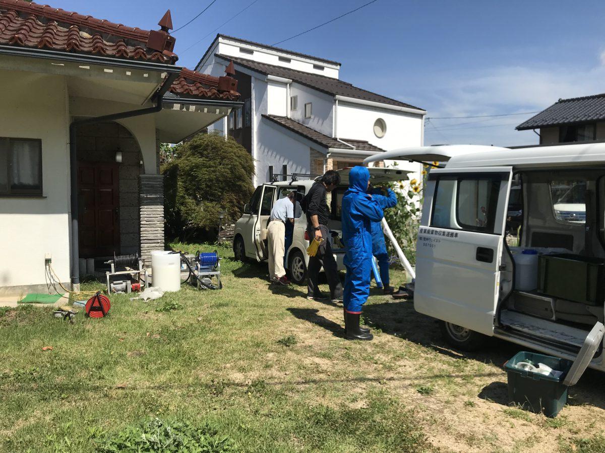 日本ボレイト、ホウ酸施工、シロアリ防蟻、源さんで一軒落着!