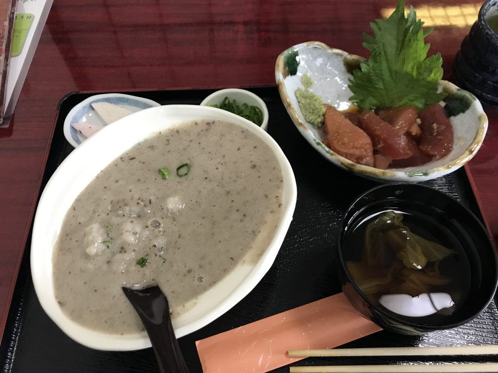 源さん,ランチ,いも汁,とろろ芋,おいしい,信州ウェイスト